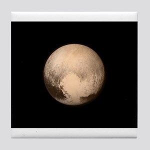 PLUTO HEART Tile Coaster